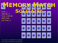 Solitaire Memory Match