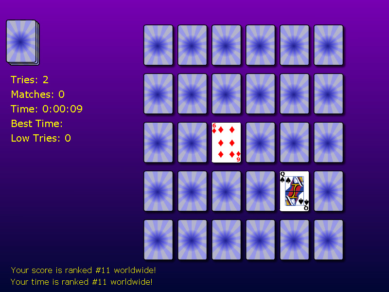Solitaire Memory Match 1.0 full