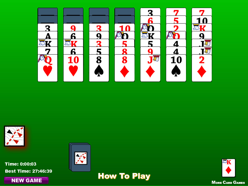 Card Games - How To Play Scorpion Solitaire