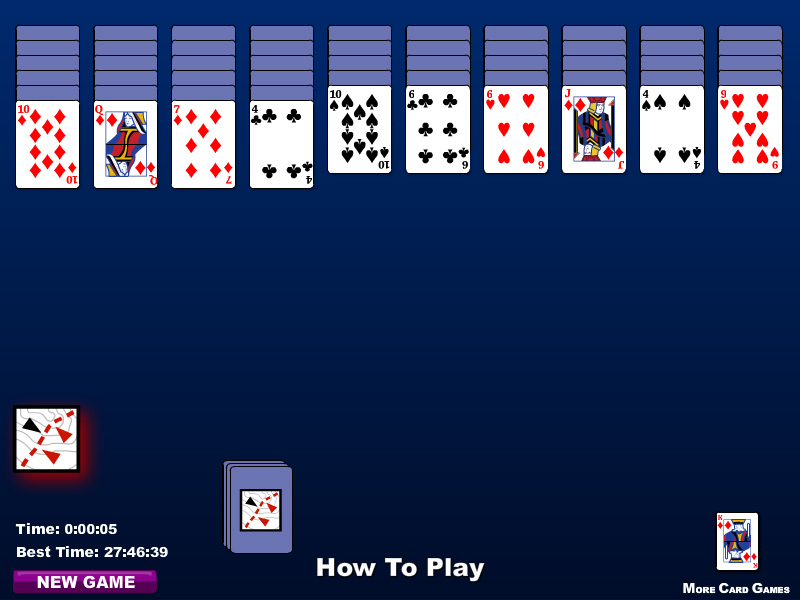 games spider solitaire